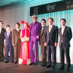 宝塚歌劇 月組公演『グランドホテル』『カルーセル輪舞曲(ロンド)』制作発表会の模様