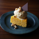 にんじんスフレチーズケーキ