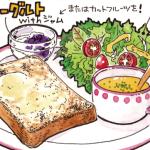 パンのある食卓その①~手軽に美味しいモーニング~