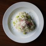 枝豆とパルミジャーノのリゾット