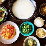 土鍋と中華粥